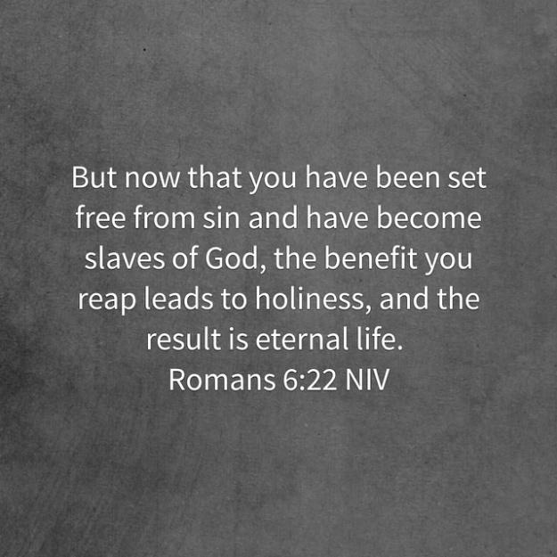 Romans 6 22